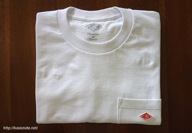 DANTONメンズTシャツの写真
