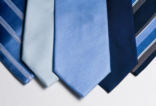 おしゃれなネクタイの写真